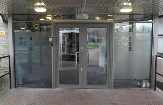 Aluminium Doors Commericlal Caddy Windows Double