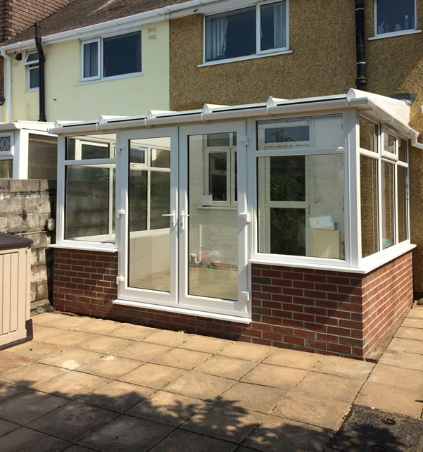 Conservatories lean to conservatory for Conservatory sliding doors