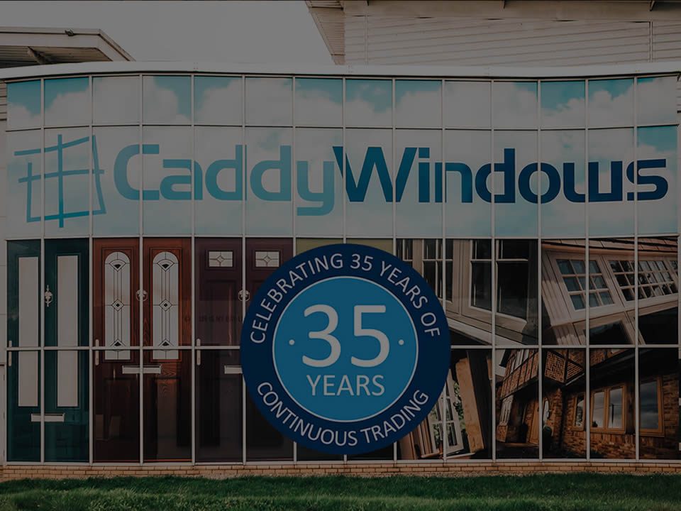 Caddy Windows showroom is one of the largest in Bristol