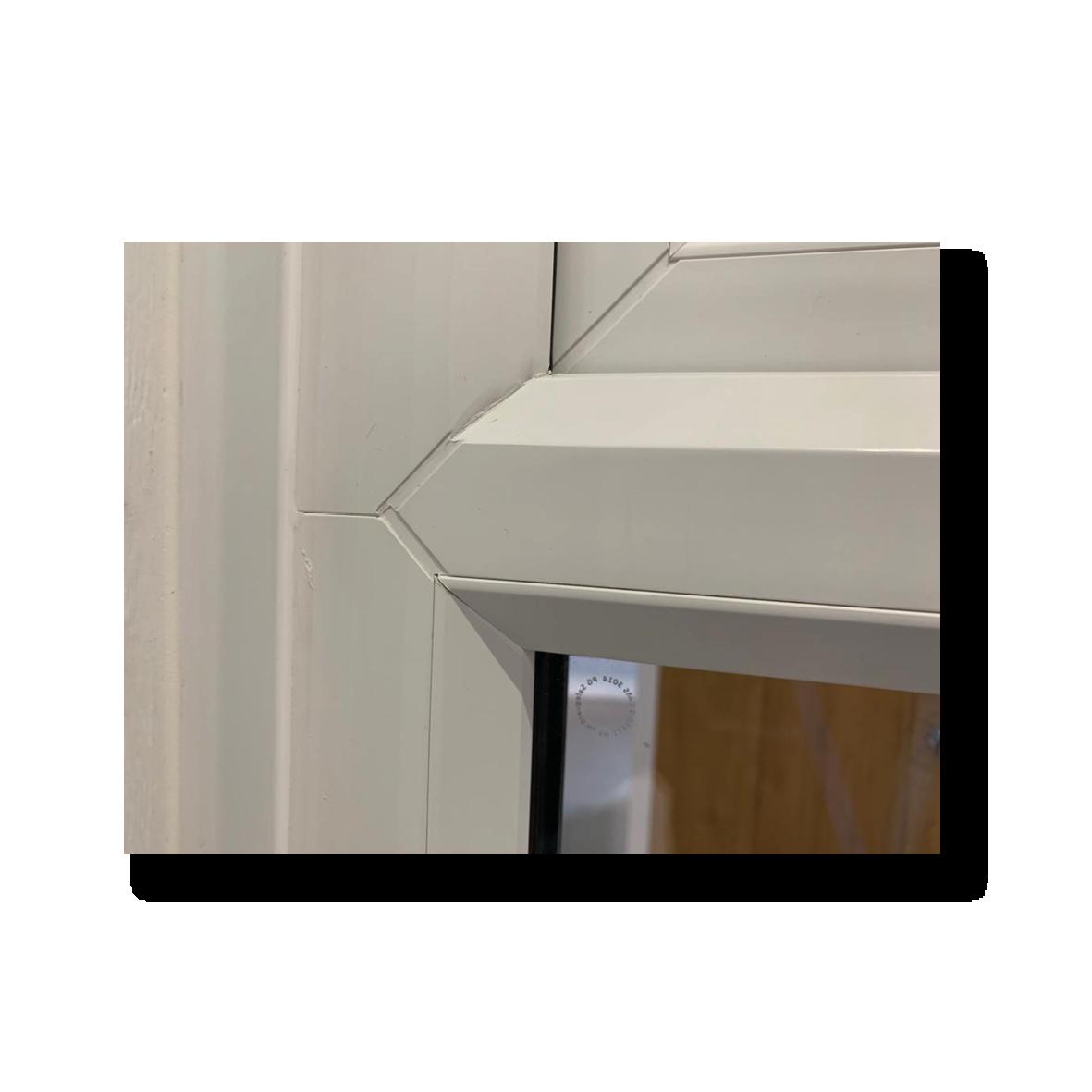 Reverse Butt Weld on Casement Windows