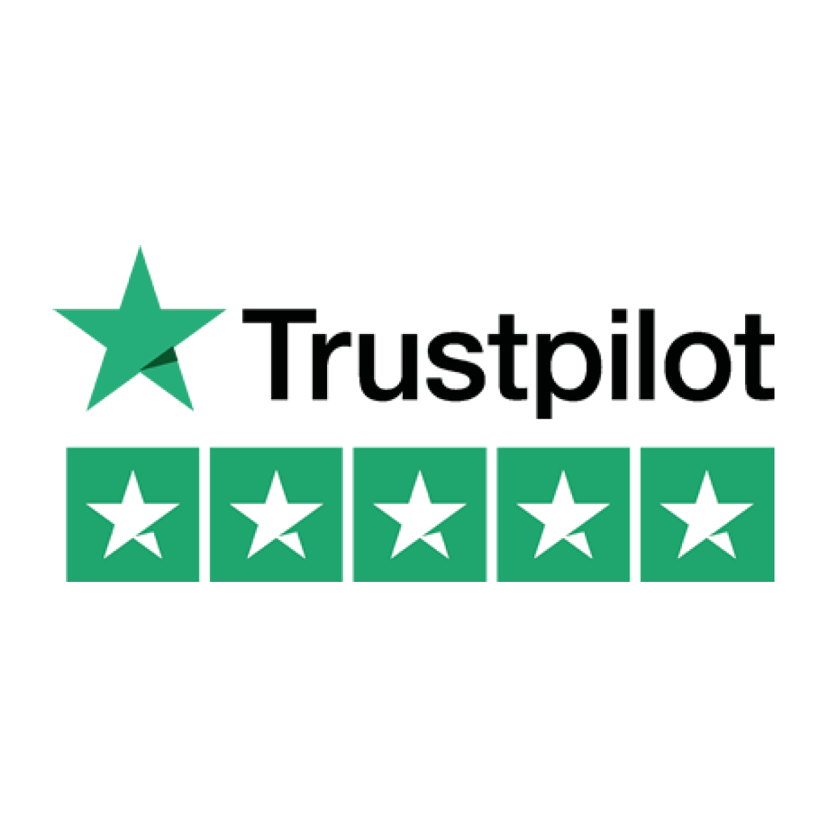 5 star on Trustpilot