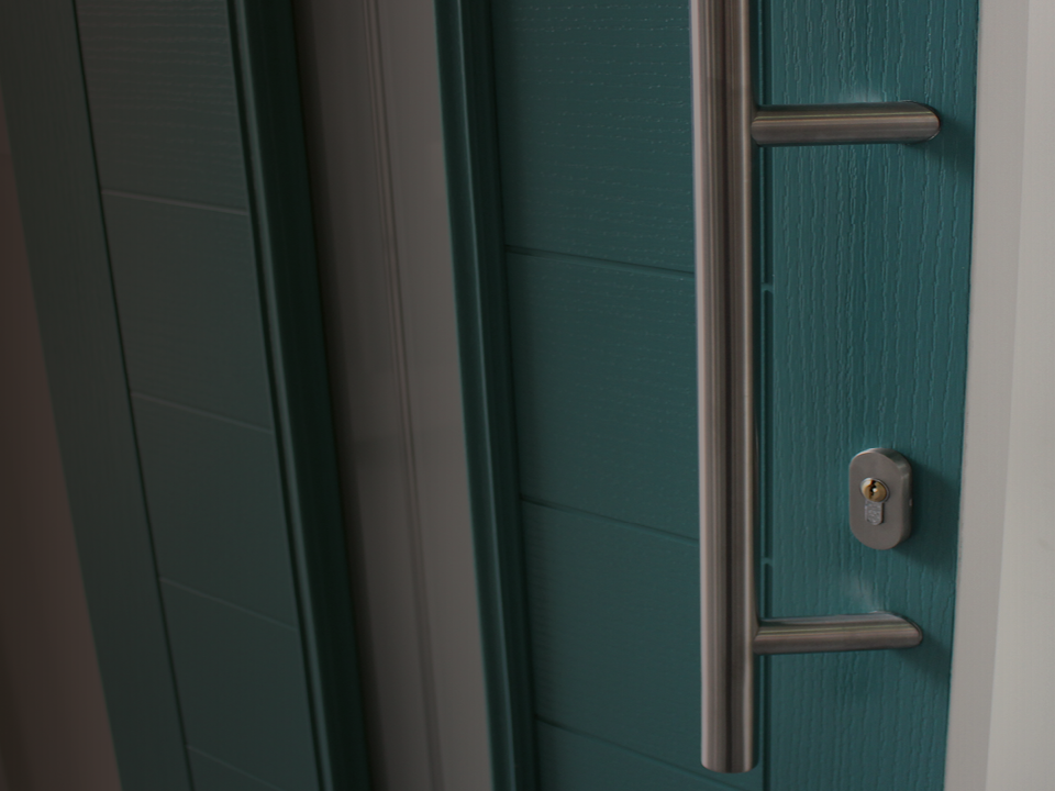 Caddy Windows composite doors come with an 11 year guarantee as standard